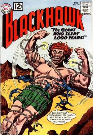 Cover for Blackhawk #179
