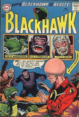 Cover for Blackhawk #205
