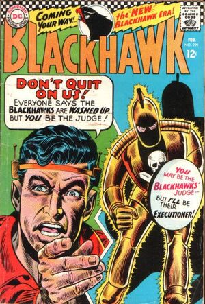 Cover for Blackhawk #229