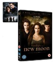 Twilight&amp;Newmoondvd