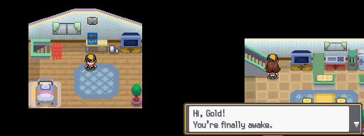 HeartGoldSoulSilver New Bark Town 1