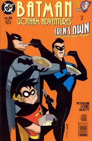 Cover for Batman: Gotham Adventures #20
