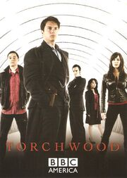 Torchwood sdcc postcard
