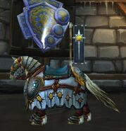 Crusader's White Steed