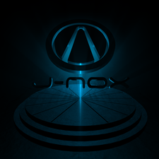 J-nox designs logo blue