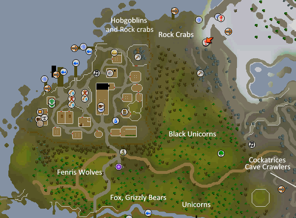 Furnseek map