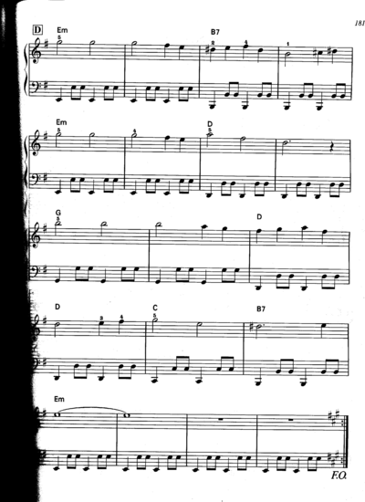 Black Mage Village Sheet Music Part 4