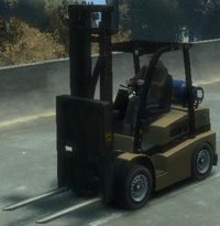 Forklift GTA IV