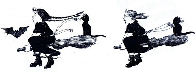 Авторские рисунки Джилл Мерфи. - Страница 2 640px-Worst_witch_book4003