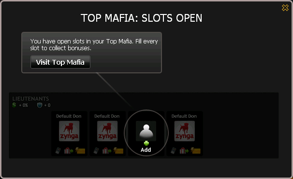 Top Mafia Slots Open