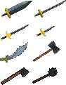 RS Classic Mithril Weapons