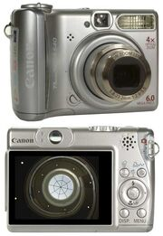 Canon PowerShot A540