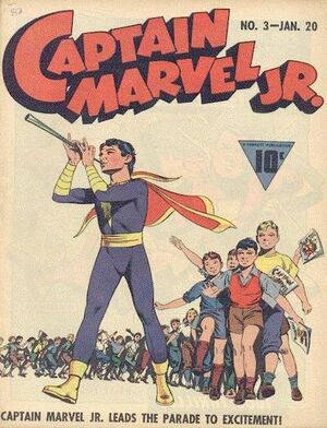 Cover for Captain Marvel, Jr. #3