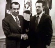 Richard M Nixon und Henry Starling