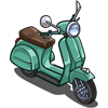 Seagreen Scooter-icon