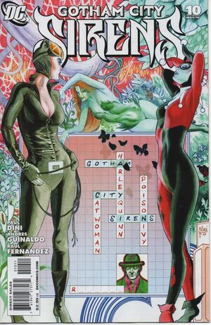 Cover for Gotham City Sirens #10