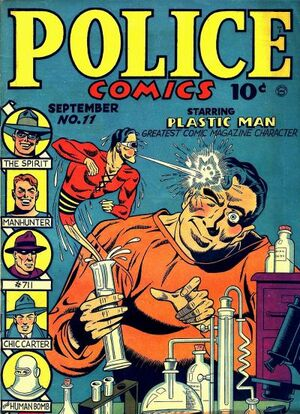 Cover for Police Comics #11