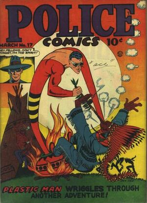 Cover for Police Comics #17