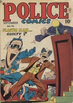 Cover for Police Comics #94
