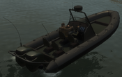 Dinghy detrás GTA IV