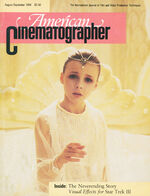American Cinematographer cover August-September 1984