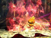 Torchic usando giro fuego SSBB