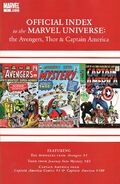 Avengers, Thor &amp; Captain America Official Index to the Marvel Universe Vol 1 1