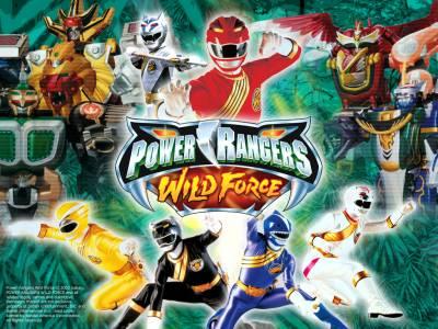 Power Ranger Fuerza Salvaje
