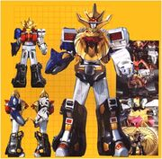 8 WILD FORCE MEGAZORDS