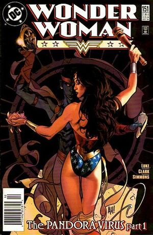 Cover for Wonder Woman #151