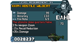 KKA4 Hostile Wildcat