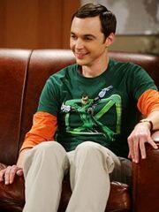 Sheldon on the couch