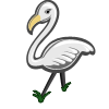 White Flamingo-icon