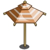 Tuscany Sienna Umbrella-icon