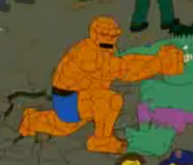 Superheroes y Villanos en los Simpsons
