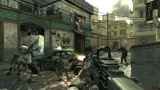 Did you notice in MW2 how the DLC had improved graphics?