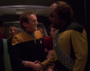 OBrien and Worf