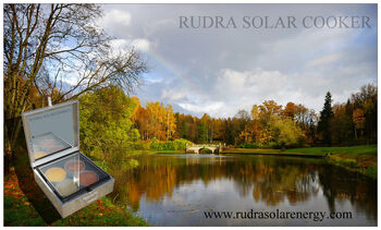 Rudra solar cooker