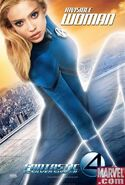 New fantastic four jessica alba poster