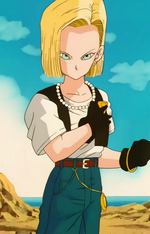 Android18SemiPerfectCellSaga