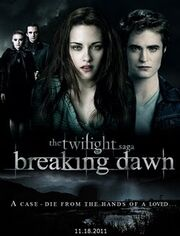 Breaking dawn fan poster12