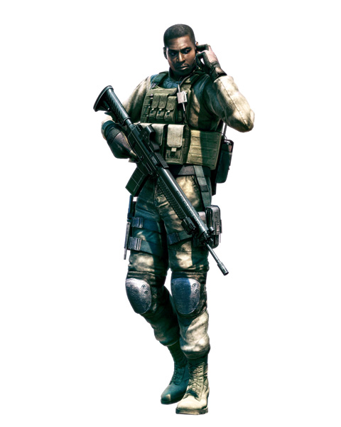 Josh Stone con un SIG 556   Resident Evil 5   Sig 556 Resident Evil 5