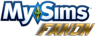 MySims Fanon Logo...NEW