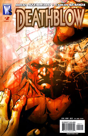 Cover for Deathblow #2