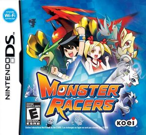 Monster Racers Cover