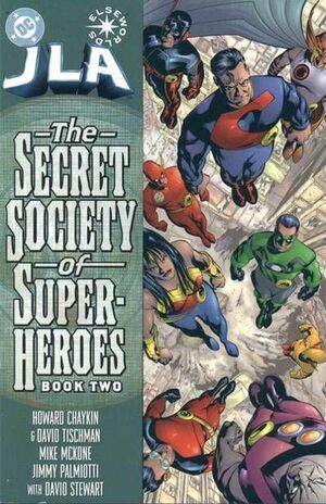 Cover for JLA: Secret Society of Super-Heroes #2