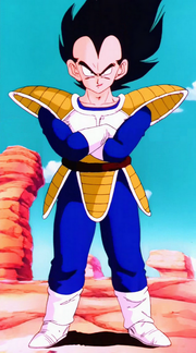 VegetaVsGokuBattleOnEarth