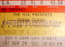 Ticket 24 march 2001 edited edited
