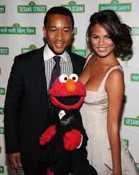 Gala2010-John Legend and Christine Teigen