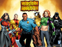 Wildstorm Armageddon full cover